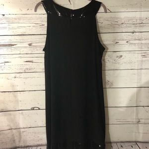 FashionBug Sleeveless Black Dress New Without Tags
